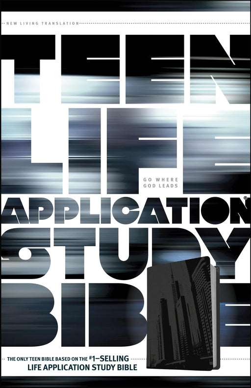 NLT2 Teen Life Application Study Bible-Steel City LeatherLike