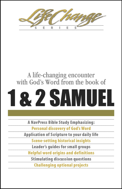 1 & 2 Samuel (LifeChange)