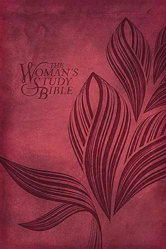 NKJV Woman's Study Bible/Personal Size-Cranberry LeatherSoft