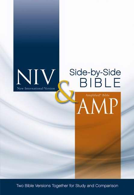 NIV & Amplified Side-By-Side Bible-Hardcover