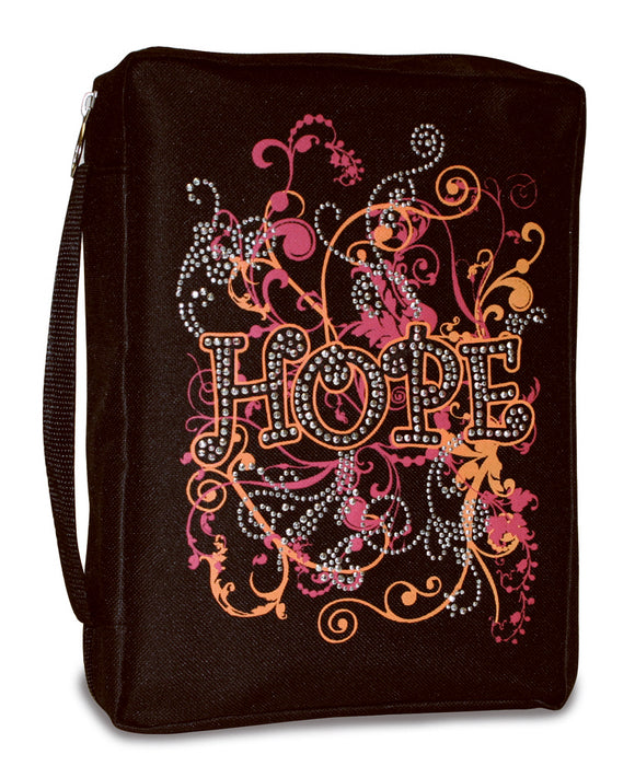 Bible Cover-Basic-Gem Embellished-Hope-XLG