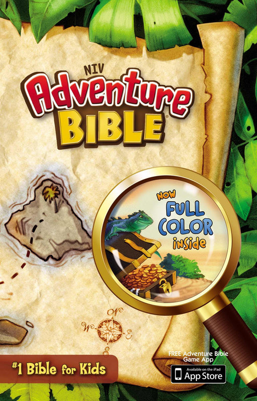 NIV Adventure Bible (Full Color)-Hardcover
