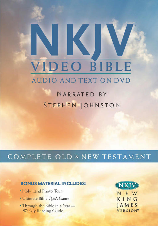 NKJV Video Bible: Audio And Text On DVD (Value Price)