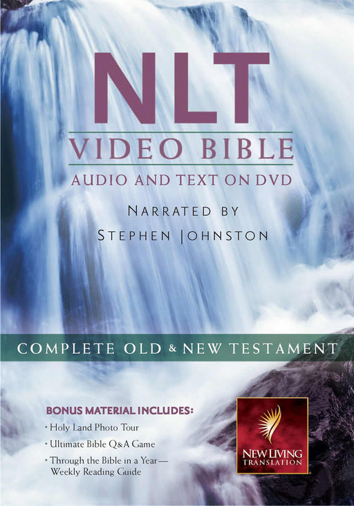NLT2 Video Bible: Audio and Text On DVD (Value Price)