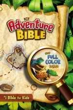 NIV Adventure Bible (Full Color)-Hardcover Indexed