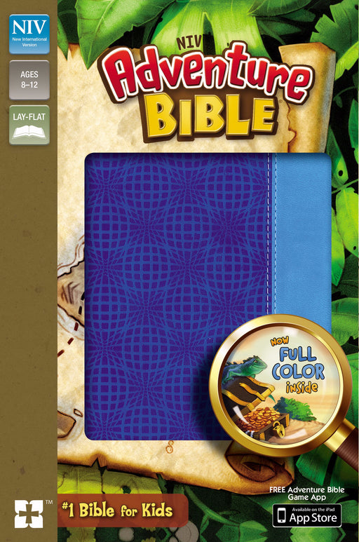 NIV Adventure Bible (Full Color)-Blue/Blue Duo-Tone