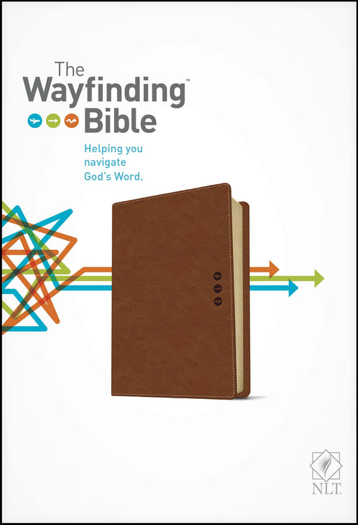 NLT2 Wayfinding Bible-Brown LeatherLike