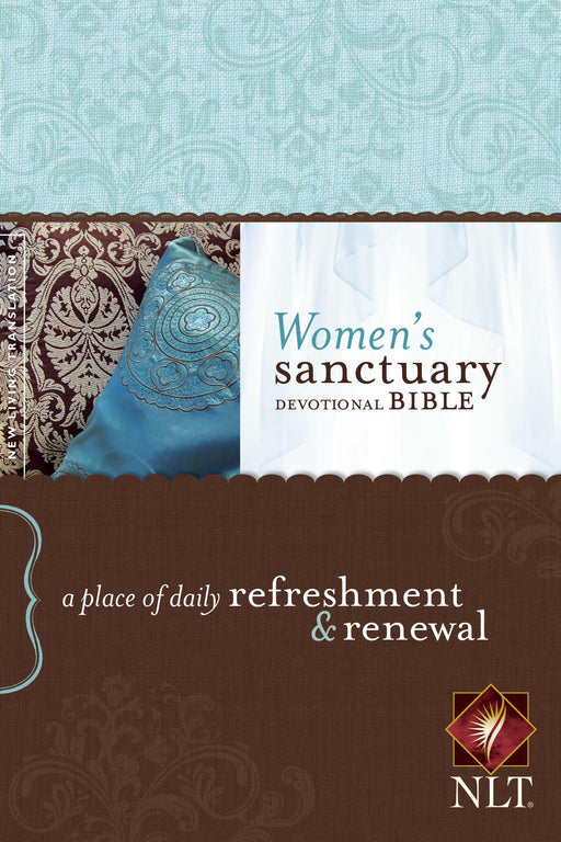NLT2 Womens Sanctuary Devotional Bible-Hardcover