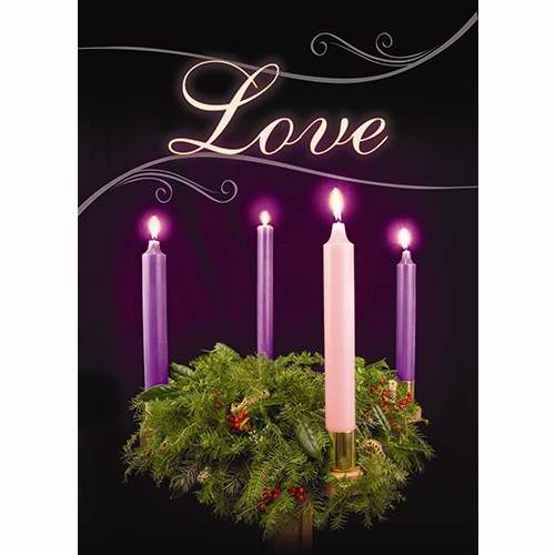Banner-:C-Advent-Love (2' x 3') (Indoor)