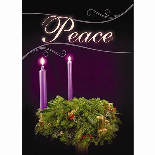 Banner-:C-Advent-Peace (2' x 3') (Indoor)