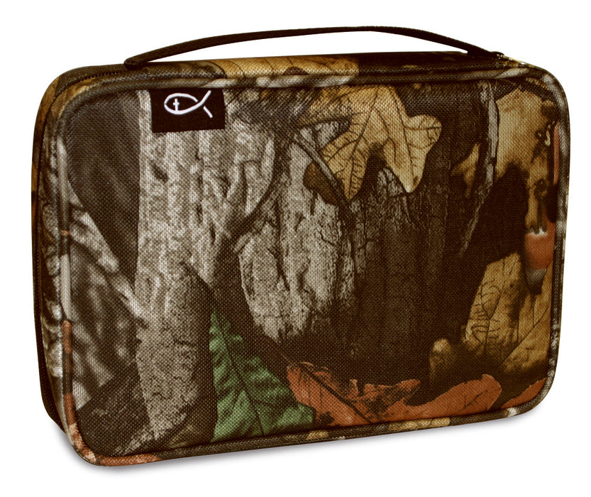 Bible Cover-Gray Forest Camo-Medium