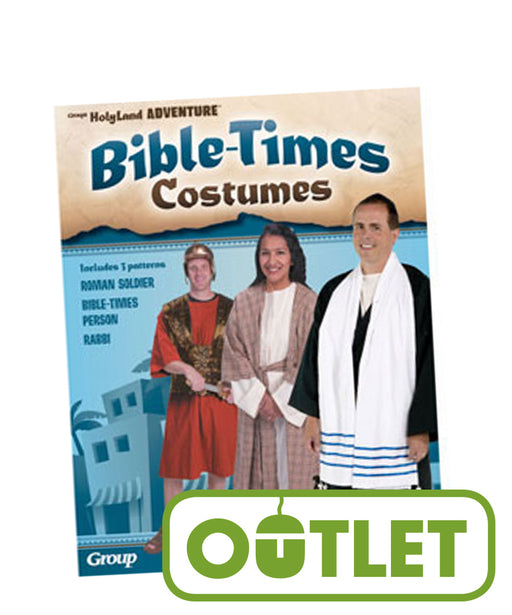 VBS-Babylon-Bible Times Costumes Pattern Pack (Set Of 3)
