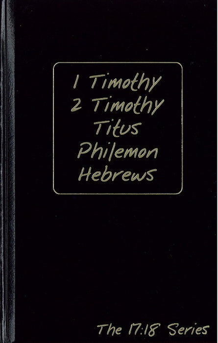 1 Timothy-Hebrews: Journible (The 17:18 Series)