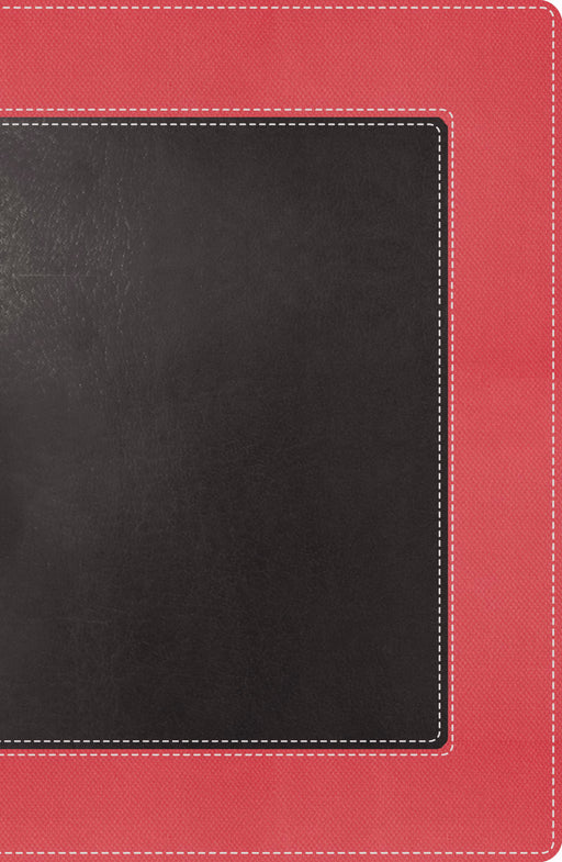 NKJV Woman's Study Bible/Personal Size-Sunset Pink/Charcoal Shimmer LeatherSoft