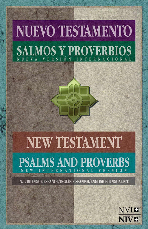 NVI/NIV Spanish-English New Testament w/Psalms & Proverbs-Softcover