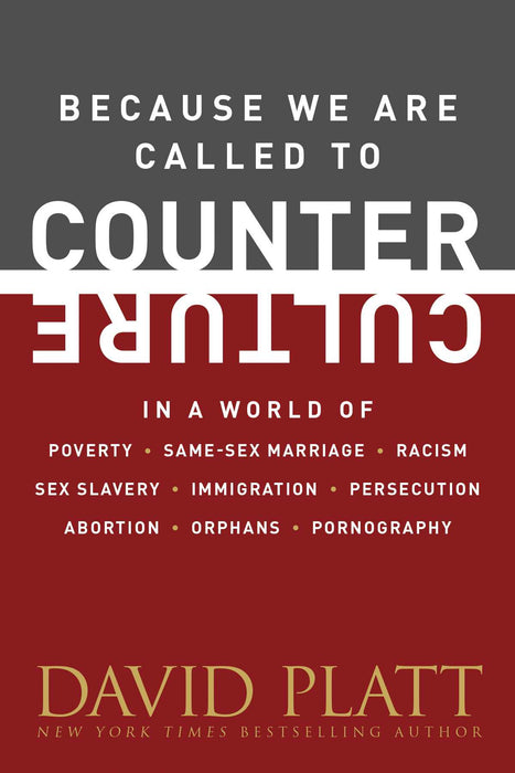 Because We Are Called To Counter Culture (Counter Culture Booklets)