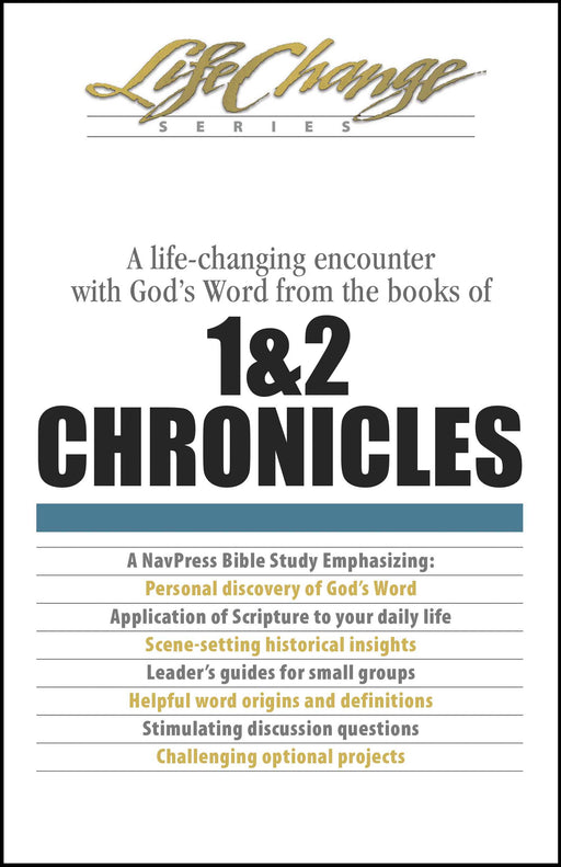 1 & 2 Chronicles (LifeChange)