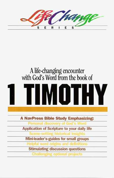 1 Timothy (LifeChange)