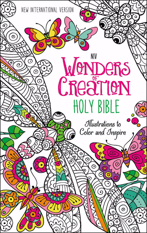 NIV Wonders Of Creation Holy Bible-Printed Hardcover