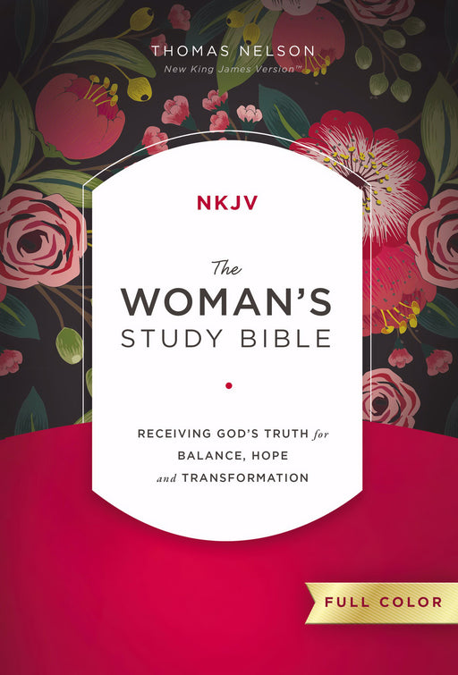 NKJV Woman'S Study Bible (Full Color)-Multicolor Hardcover