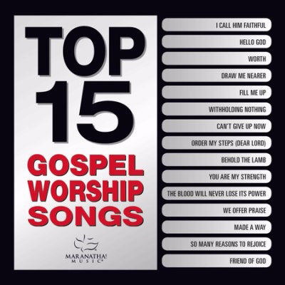 Audio CD-Top 15 Gospel Worship Songs