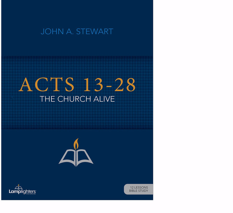 Acts 13-28 (Lamplighters Study Guide)