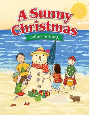 A Sunny Christmas Coloring Book (Pack Of 6)