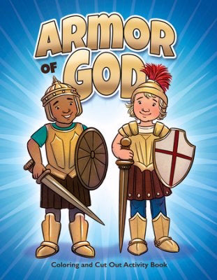 Armor Of God Coloring And Cut Out Activity Book (Pack Of 6)