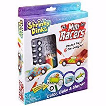 Activity Set-Shrinky Dinks Mini Racers (Ages 5+)