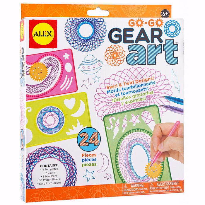 Activity Set-Go Go Gear Art (Ages 6+)