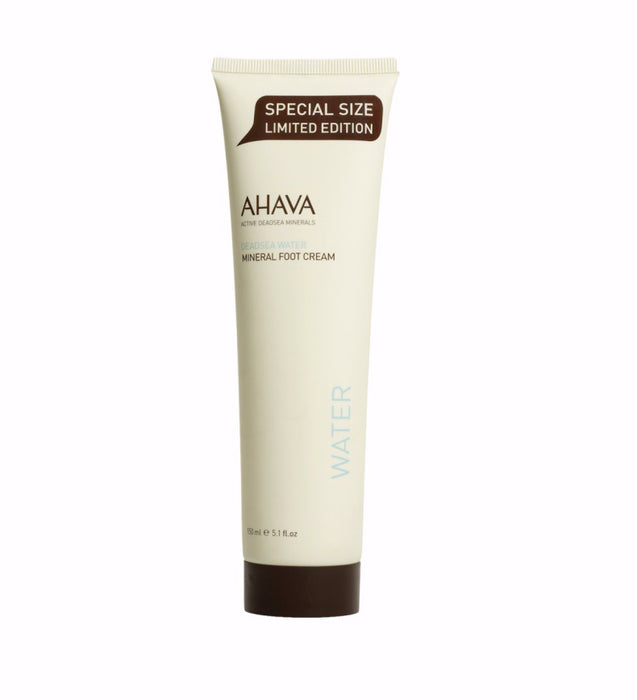 Bath & Body-Ahava Mineral Foot Cream-5.1oz-Limited Edition Size
