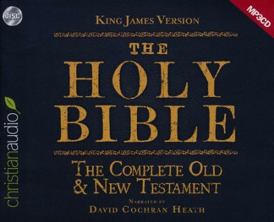 Audio CD-KJV Complete Old & New Testament On MP3 (4 CD)