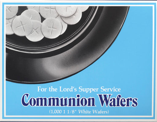 White Communion Wafers 1 1/8""