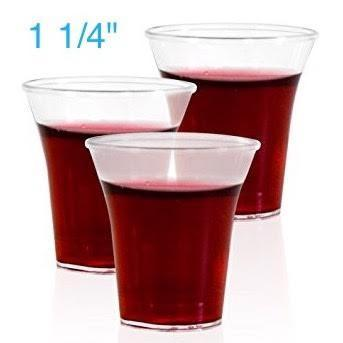 Communion Cups - Communion Cup Disposable (Clear) 1 1/4""