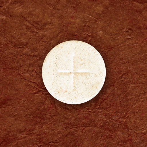 "Communion Wafers - Communion Wafer - White Altar Bread (1-1/8"") - Cross Design"