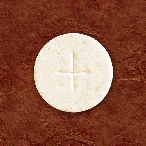 "Communion Wafers - Communion Wafer - White Altar Bread (1-3/8"") - Cross Design"