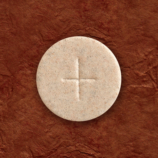 "Communion Wafers - Communion Wafer - Whole Wheat Altar Bread (1-3/8"") - Cross Design"