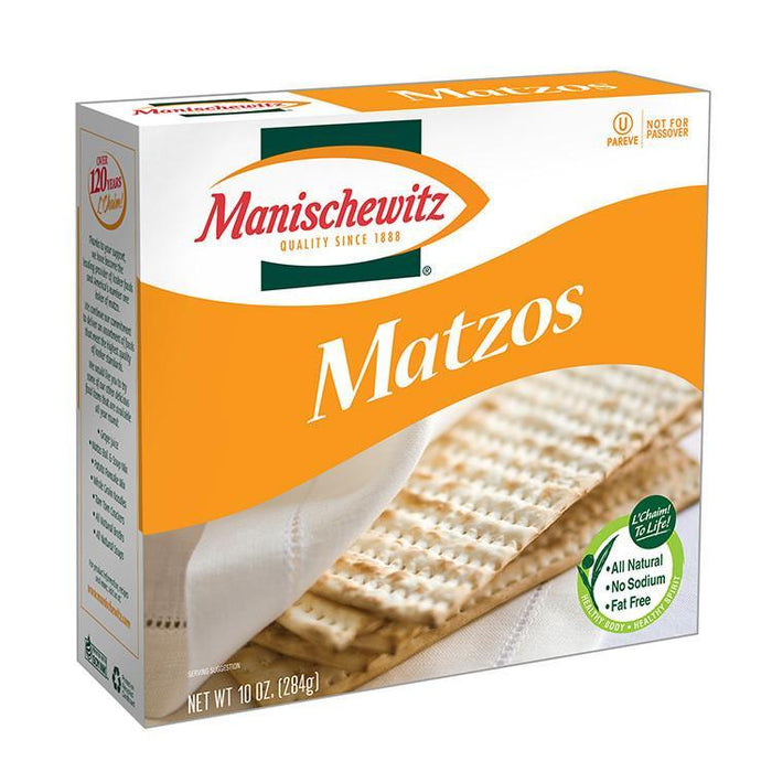 Communion Wafers - Matzo Unsalted Bread-Square - Pack Of 100 Matzos