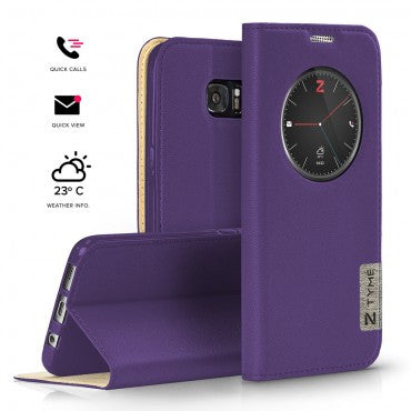 huge discount 0c7d1 d31d6 Samsung Galaxy Note 5 - Zizo Tyme Smart Companion Case with Interactive  Features - Purple