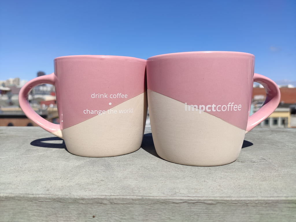 impctcoffee mug - drink coffee, change the world - IMPCT