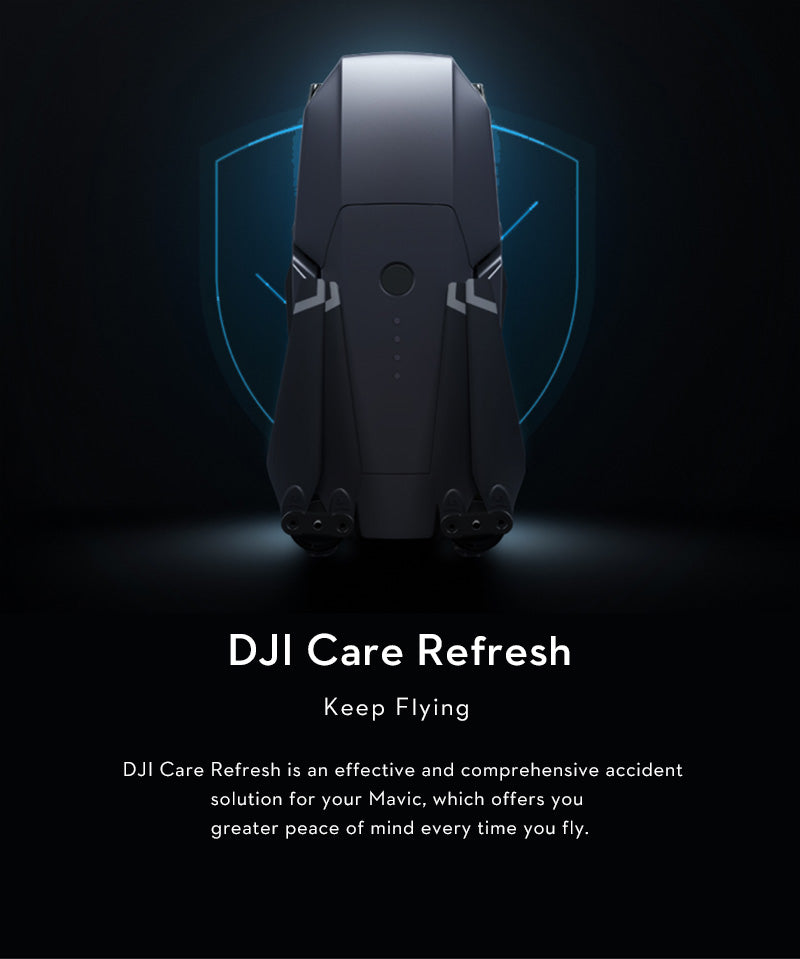 DJI care refresh insurance cover