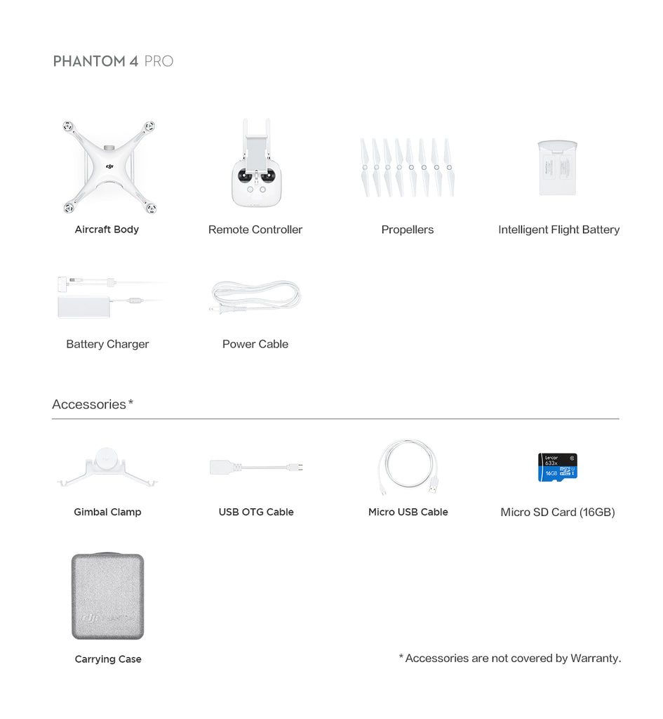 Phantom 4 Pro Accessories