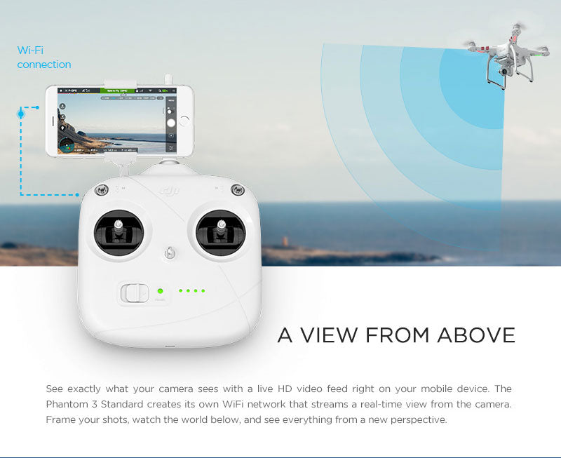 Phantom 3 Standard Features