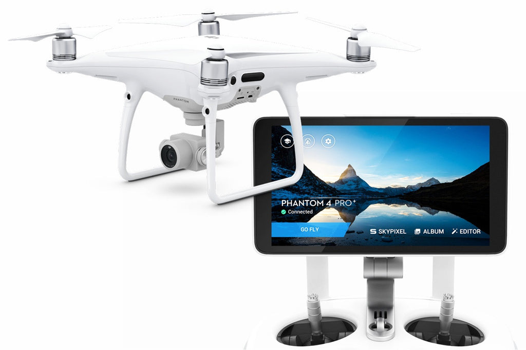 DJI Phantom 4 Pro Plus V2 0 (With Built-In Screen RC)