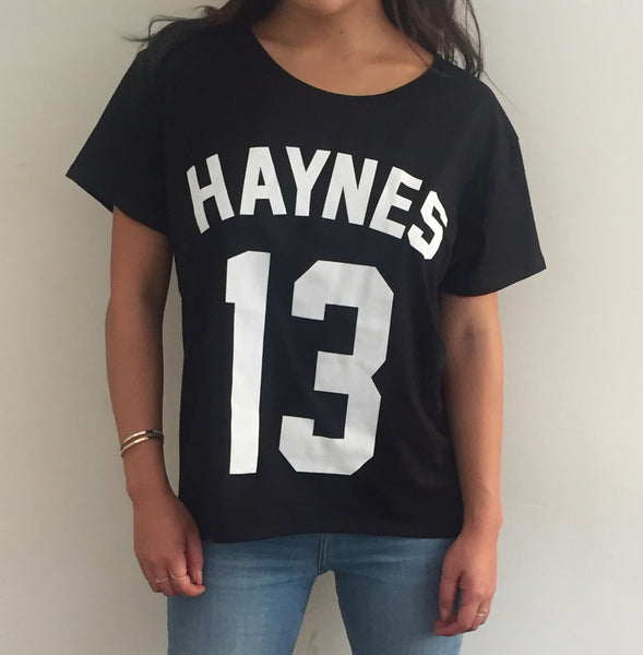 Women's Boy T Shirt - Haynes 13 Frontside