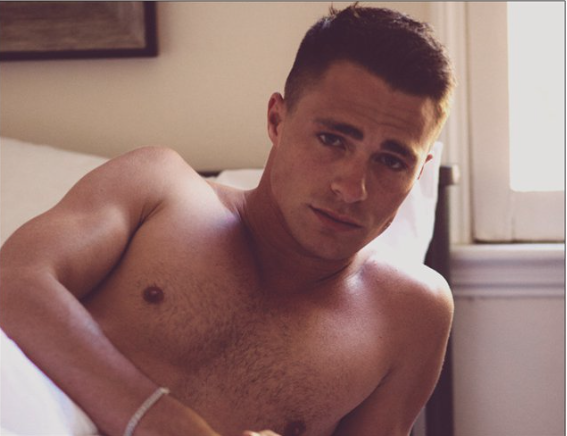 Magnet - Morning Colton Haynes