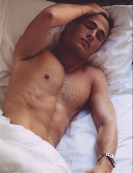Magnet - Bed Time Colton Haynes