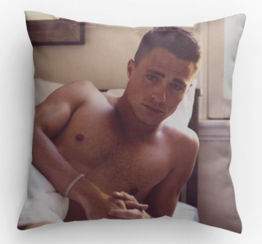 Pillow - Morning Colton Haynes