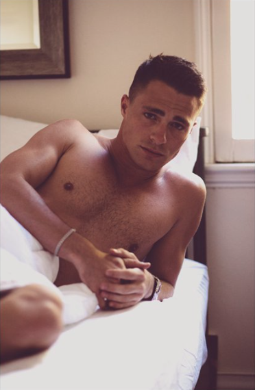 Poster - Morning Colton Haynes