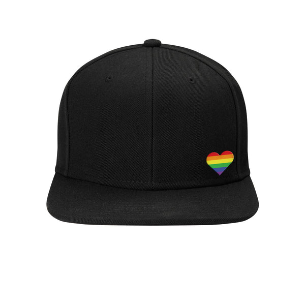 Flat Brim Snapback Baseball Cap - Stronger Together